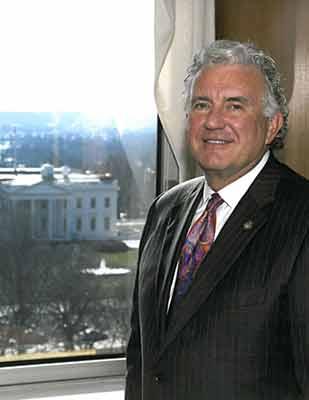 John D. Clark, Sr. Visits the VA