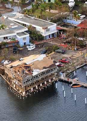 Puerto Rico: Damage from Hurricane Maria